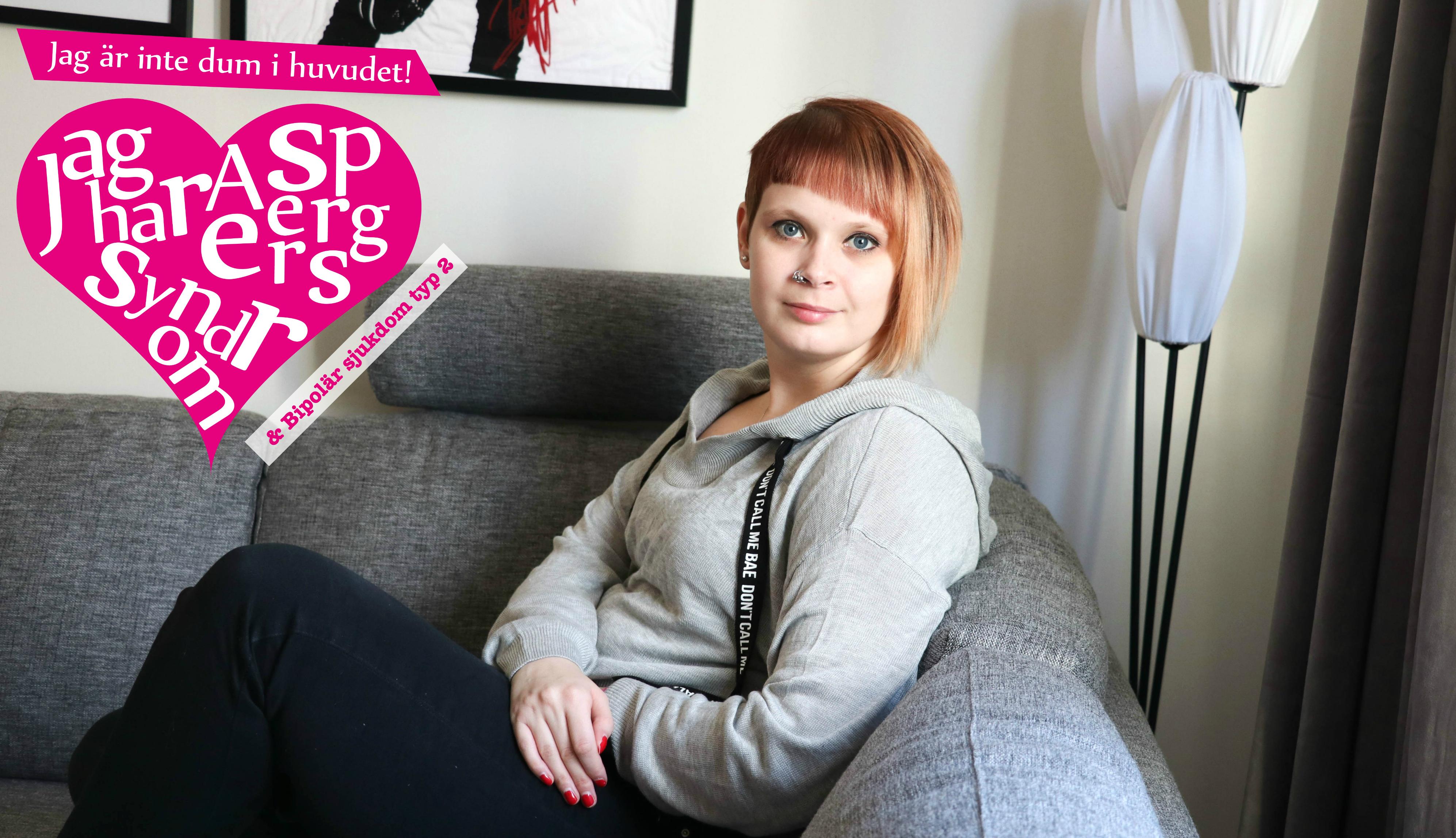 Livet med Aspergers syndrom & Bipolär sjukdom typ 2