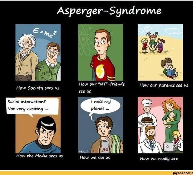 fördelar med att ha Aspergers syndrom