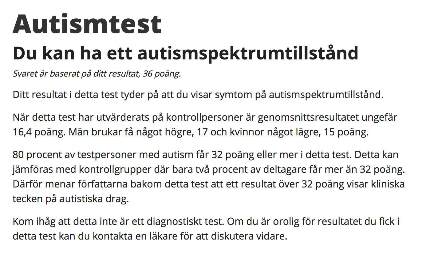 Asperger-test
