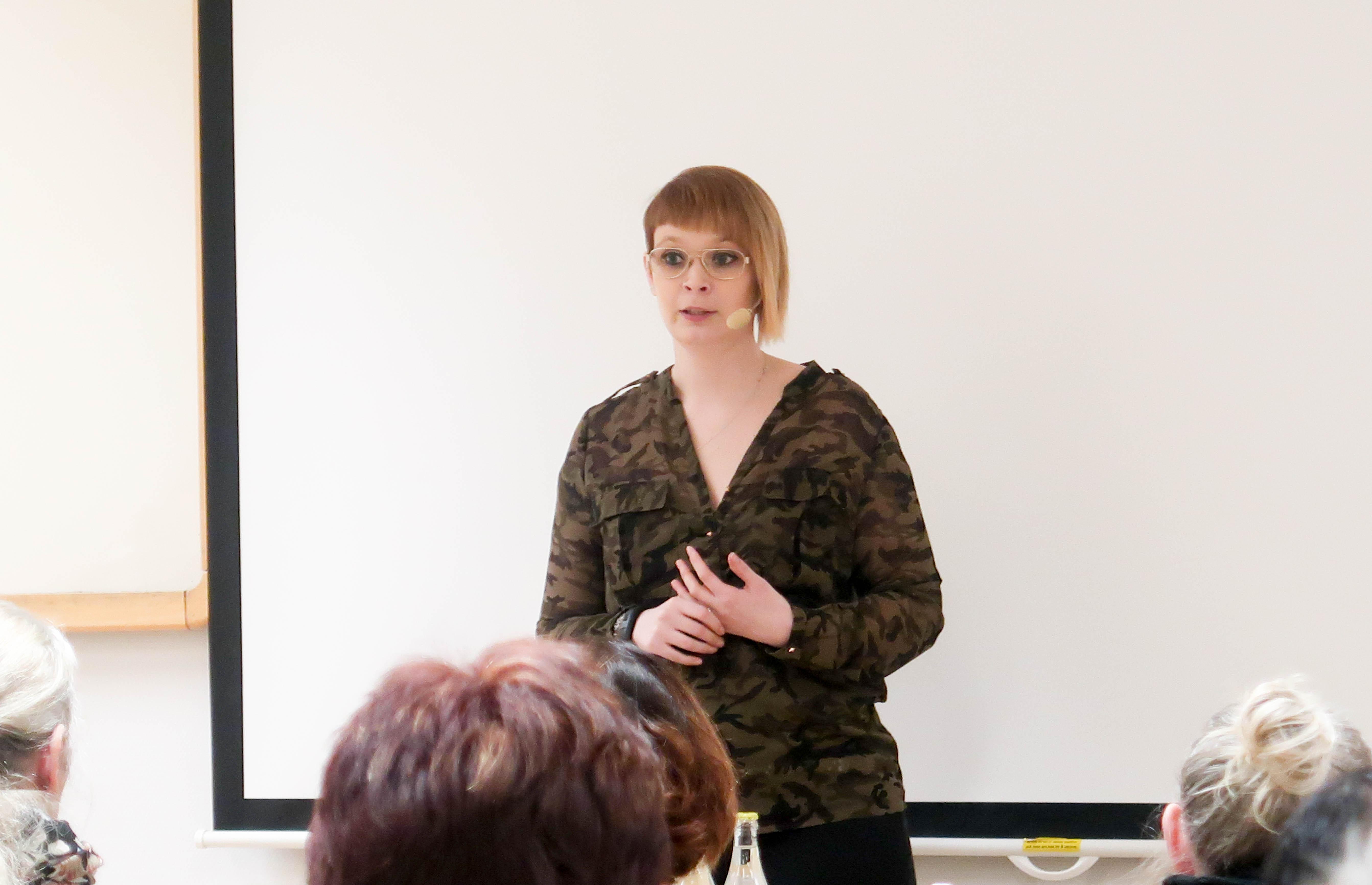 En föreläsning om livet med diagnoser