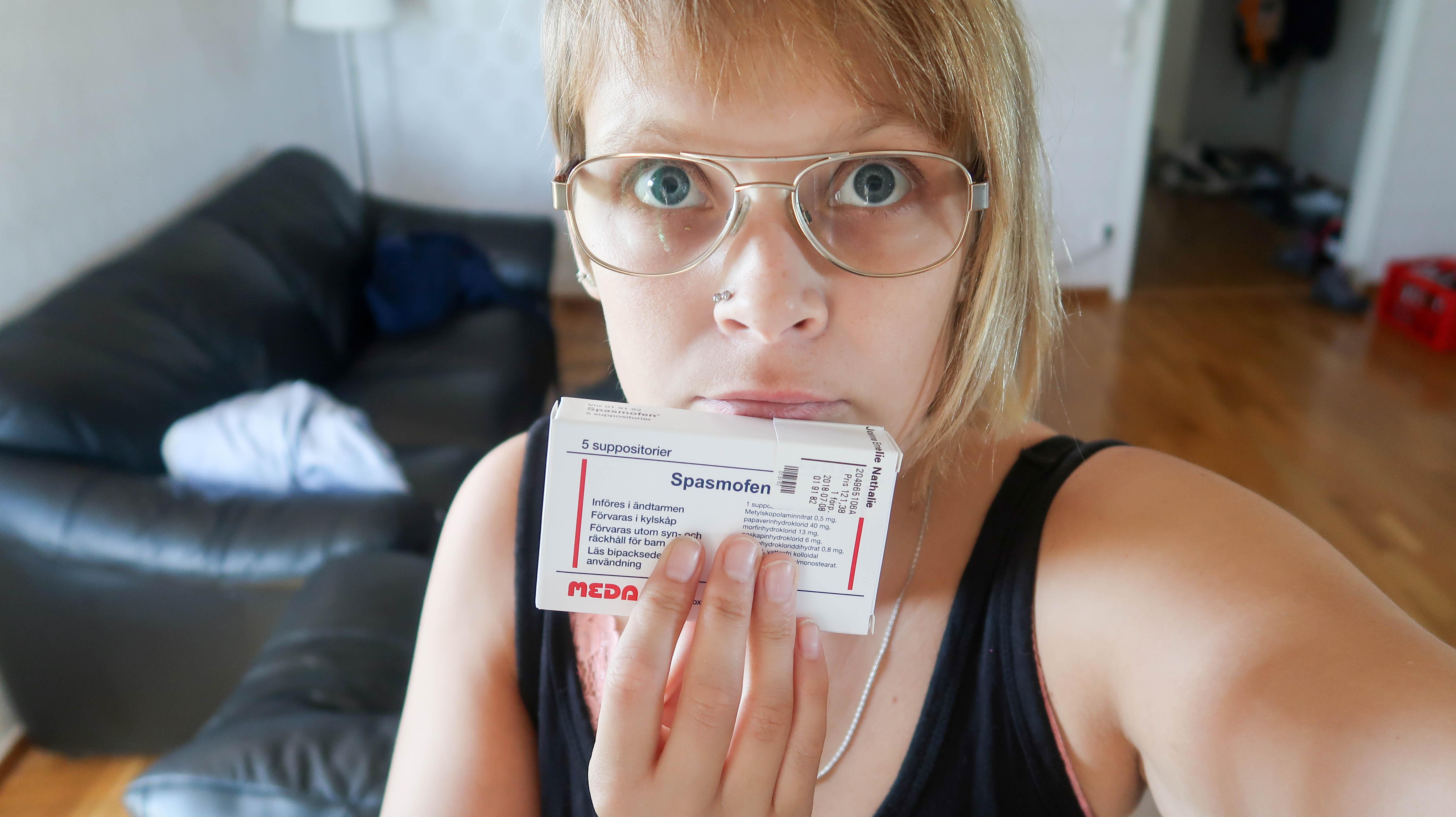 1,5 månader utan morfin