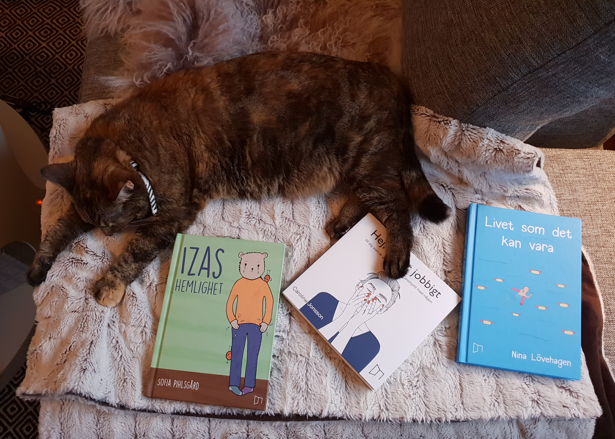 Böcker om psykisk ohälsa för unga