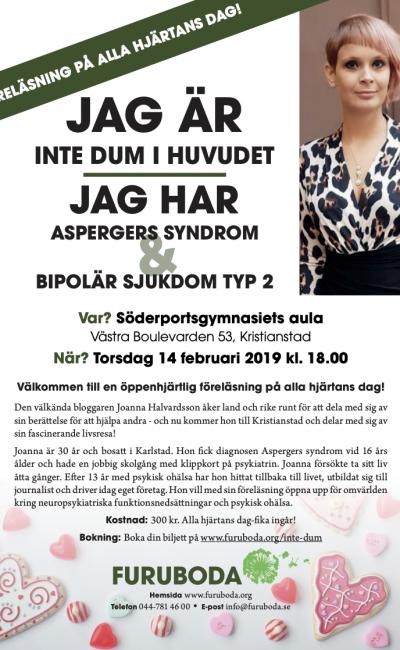 Föreläsning i Kristianstad den 14/2