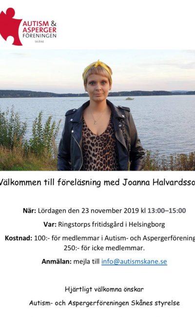 Jag föreläser i Helsinborg den 23 november