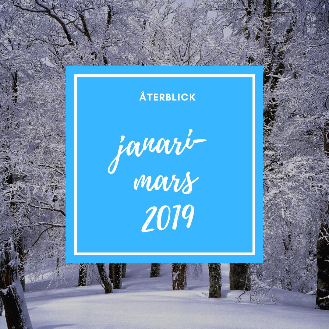 Återblick januari-mars 2019