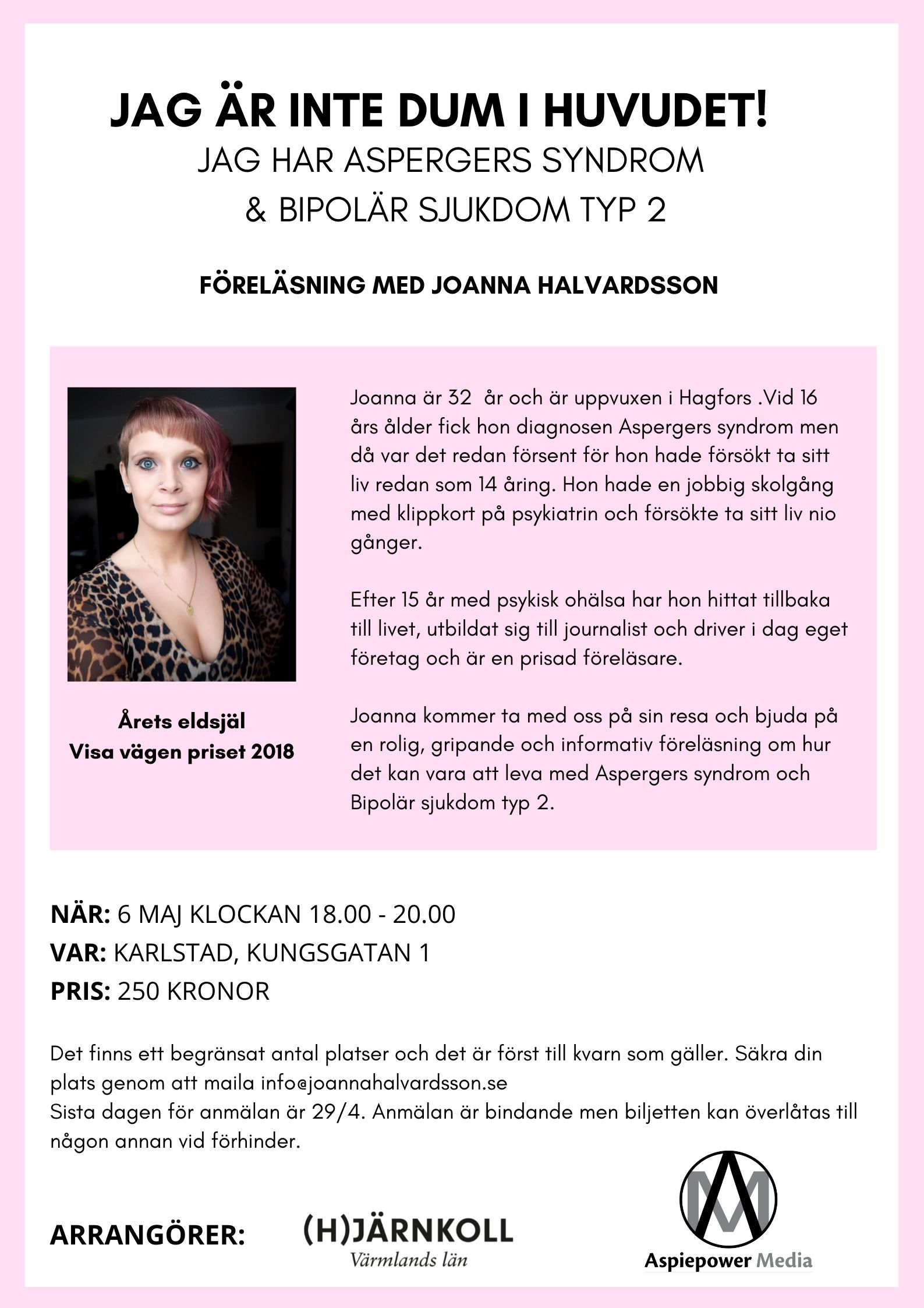 Öppen föreläsning i Karlstad