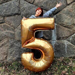 5 år som egenföretagare