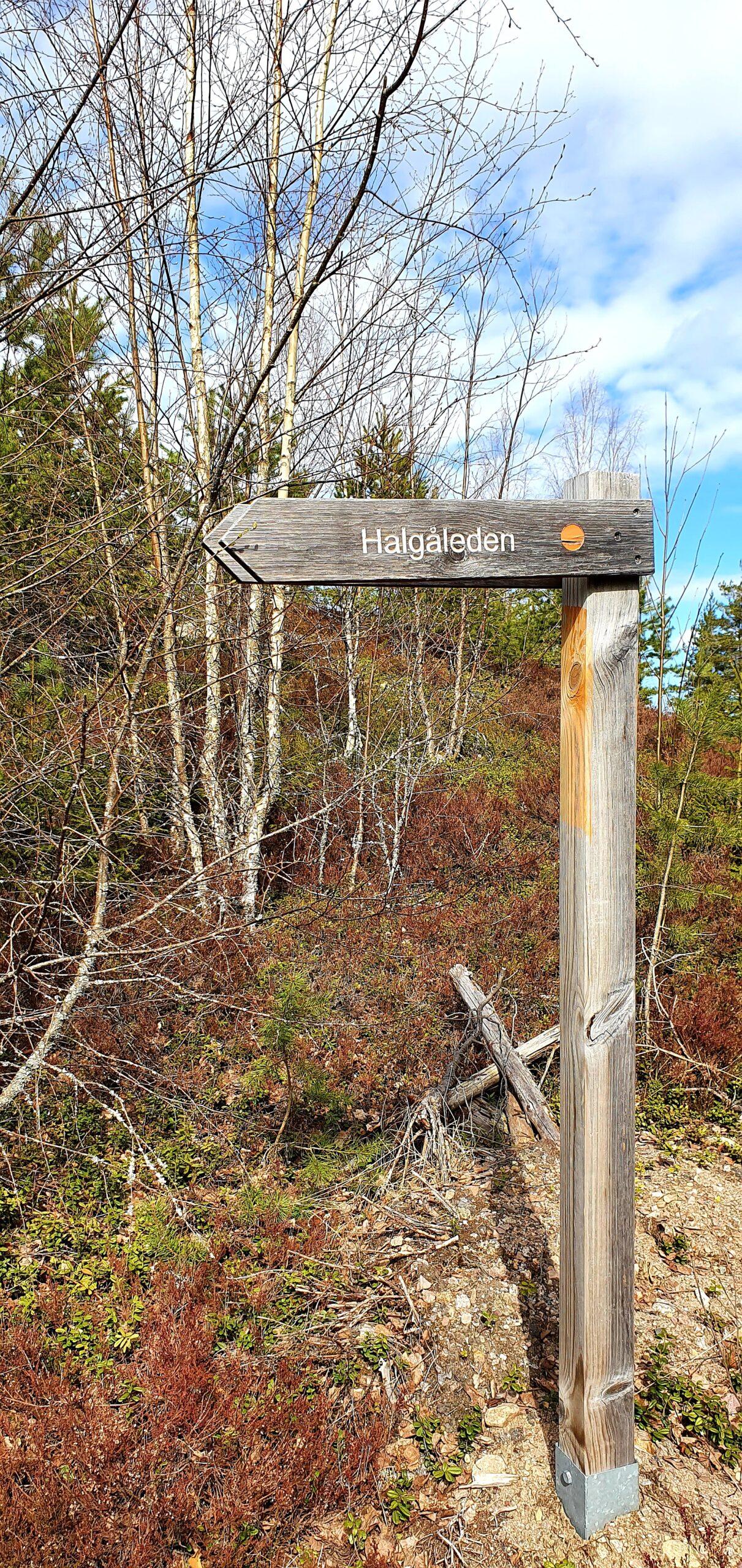 Halgåleden
